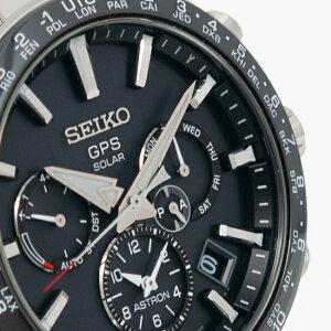 セイコーアストロンSBXC003腕時計メンズ大谷翔平選手広告モデルGPSソーラーウオッチSEIKOASTRON衛星電波時計黒5X雑誌掲載