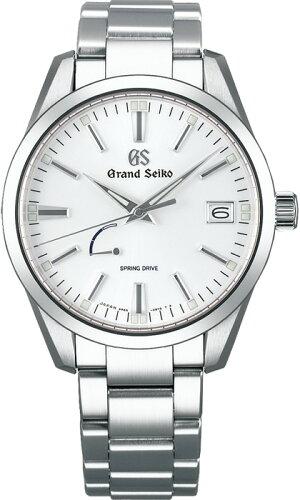 セイコーグランドセイコースプリングドライブSBGA299腕時計メンズGRANDSEIKOキャリバー9R65GSGRANDSEIKO白ステンレスラグジュアリースプリングドライブ自動巻カレンダー機能付日本製高級腕時計