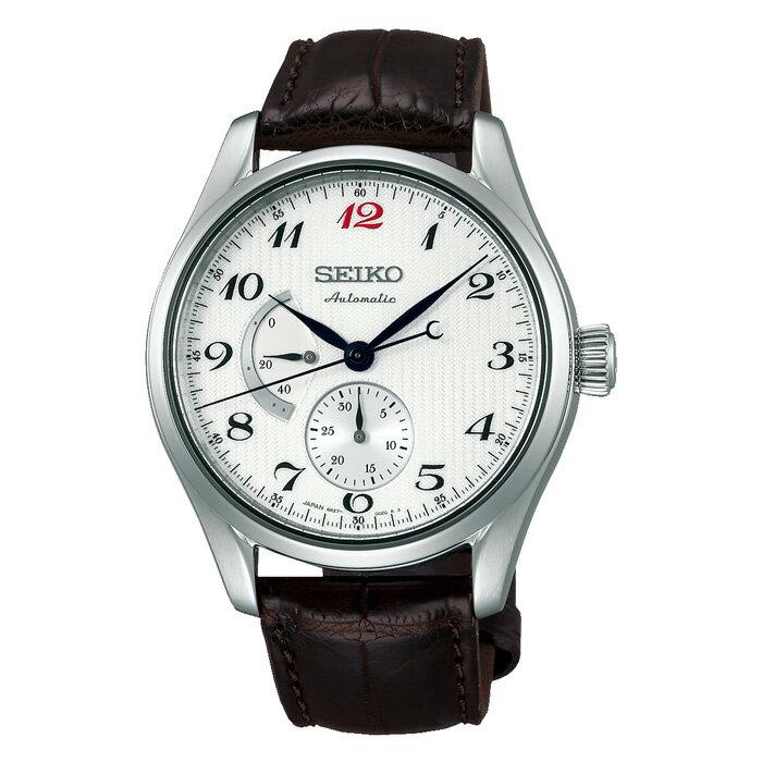 セイコー プレザージュ 腕時計 メンズ SARW025 メカニカル 自動巻き クロコダイル 革ベルト ホワイト