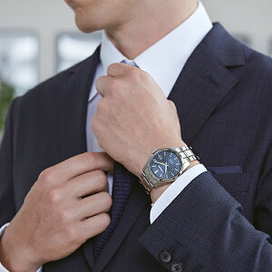 《9月11日発売/予約》セイコープレザージュシャープエッジシリーズSARX077メンズ腕時計メカニカル自動巻き麻の葉文様ダイヤルメタルバンドブルー【コアショップ専売モデル】