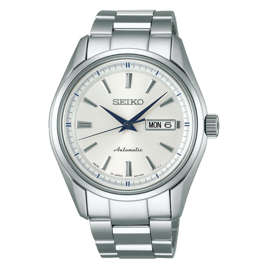 セイコー プレザージュ SARY055 メカニカル SEIKO PRESAGE 腕時計 メンズ ペアウォッチ 白 銀 自動巻き 手巻き付 ギフト 入学 入社 就職 祝い 新生活 就活
