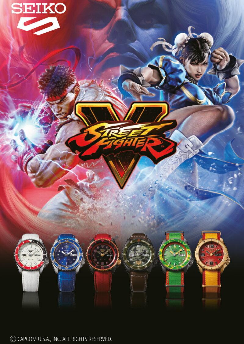 腕時計, メンズ腕時計 575000OFF6 5 V STREET FIGHTER V SBSA077 SBSA079 SBSA080 SBSA081 SBSA083 SBSA84