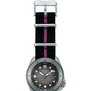 《12月11日発売/予約》セイコー5スポーツNARUTO&BORUTOナルト&ボルトコラボレーション限定モデルボルトSBSA087メンズ腕時計メカニカルナイロンバンド日本製