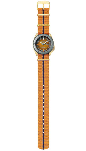 《12月11日発売/予約》セイコー5スポーツNARUTO&BORUTOナルト&ボルトコラボレーション限定モデルナルトSBSA092メンズ腕時計メカニカルナイロンバンド日本製