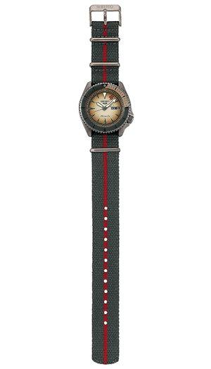 《12月11日発売/予約》セイコー5スポーツNARUTO&BORUTOナルト&ボルトコラボレーション限定モデル我愛羅SBSA093メンズ腕時計メカニカルナイロンバンド日本製