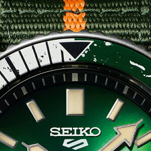 《12月11日発売/予約》セイコー5スポーツNARUTO&BORUTOナルト&ボルトコラボレーション限定モデルロック・リーSBSA095メンズ腕時計メカニカルナイロンバンド日本製