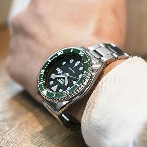 セイコー5スポーツ流通限定モデルSBSA107メンズ腕時計メカニカル自動巻きデイデイト替えバンド付き日本製【ショップ専売モデル】