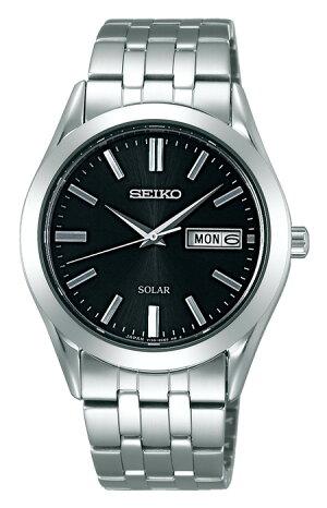 セイコースピリットSBPX083ソーラー腕時計メンズ黒SEIKOSPIRITスタンダードドレスメンズ腕時計ブラックステンレス時計ギフト入学入社就職祝い新生活就活