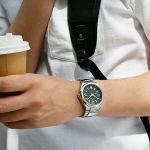 《6月25日発売/予約》セイコーセレクションマスターピースmaster-piece監修流通限定モデルSBTM303メンズ腕時計ソーラー電波ギョーシェ模様グリーン日本製