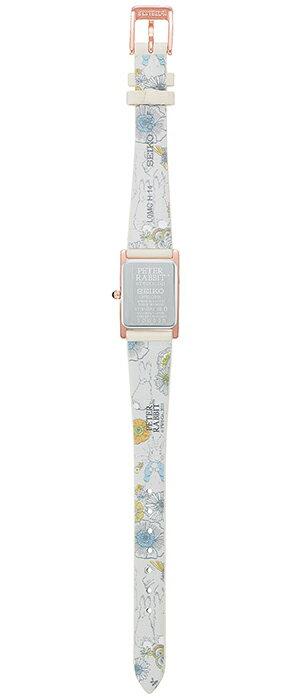 《4月16日発売/予約》セイコーセレクションピーターラビットコラボ限定モデルSTPR082レディース腕時計ソーラー革ベルトホワイト