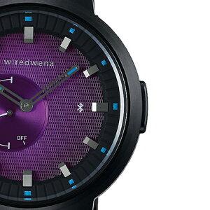 《1月15日発売/予約》セイコーソニーwiredwenaワイアードウェナ攻殻機動隊SAC_2045コラボレーション限定モデル草薙素子モデルAGAB703メンズ腕時計wena3ブラック