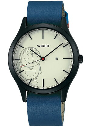 《予約2/8発売》セイコーワイアードAGAK710ドラえもんデザイン限定モデルコラボ腕時計SeikoALBAWIRED青ひげDORAEMONアルバ原作第1話