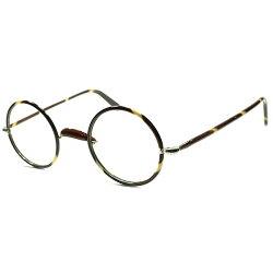 小振りスモールSIZE小顔向けMINT個体1920s-30s英国製アンティークALLセル巻き真円CLASSICラウンド丸眼鏡丸メガネビンテージ眼鏡