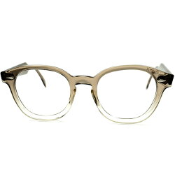 完璧シェイプ&デザイン球数極少MODELデッド級TOPレベルMINT個体1960sAOアメリカンオプティカルJAZZアーネルARNEL型メガネ眼鏡48/22