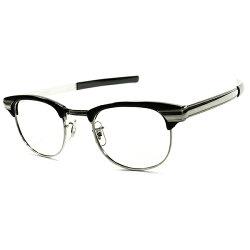 初見SUPERマニアック激渋LOOK50s-60sUSA製デッドストックWHITNEYストレートMETALTEMPLEブロータイプ眼鏡1/1012KGF金張xBLKWOOOD