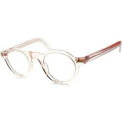 待望クラウン超人気色デッドストック1950sフランス製BASICタイプCROWNPANTOクラウンパントFRESHPINKフレンチビンテージ眼鏡メガネa5637
