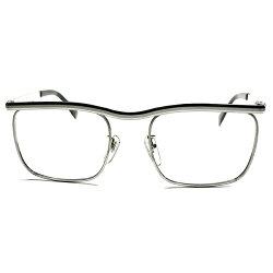 驚愕事実1960s-70sDEADSTOCK西ドイツ製AOアメリカンオプティカル本金張CARLTONカールトン型実寸52/20本金張1/2012KGF眼鏡a5695
