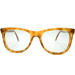 実用的クリーンLOOK1980s英国製デッドストックオリバーゴールドスミスOLIVERGOLDSMITHノーヒンジウェイファーラーシェイプヴィンテージメガネ眼鏡サングラスA5222