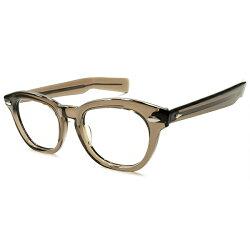 最強オプション極太テンプル極上MINT1960sアメリカンオプティカルAMERICANOPTICALAO薬莢型ヒンジ最高峰ARNEL型ウェリントンBROWNCRYSTALヴィンテージメガネ眼鏡46/20A5242
