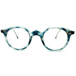 超高SPECデッドストック1950-1960sフランス製国内人気MODELクラウンパントDEMIAMBER鼈甲柄ヴィンテージ眼鏡実寸44/24GOODサイズ