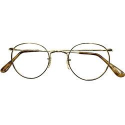 万能型CLASSICフォルムデッドストック1970s-1980s英国製SAVILEROWbyALGHAサヴィルロウアルガ本金張14KTRG×鼈甲柄FUL-VUESTYLEパントPANTOsize47/22ヴィンテージメガネ丸眼鏡A4756