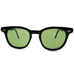 ARNEL型最高峰流麗ホーンリム極上コンディション1950s-1960sUSA製MADEINUSAボシュロムB&LBAUSCHLOMBpre-wayfarer黒BLACKウェリントンホーンリム日本製#3レンズ入りサングラス仕様size48/22ヴィンテージメガネ眼鏡A4995