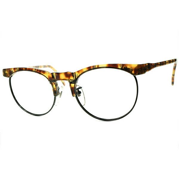 眼鏡・サングラス, 眼鏡 1980s FRAME FRANCE LAFONT BRITISH SYLE PANTO 160; 160; a6301
