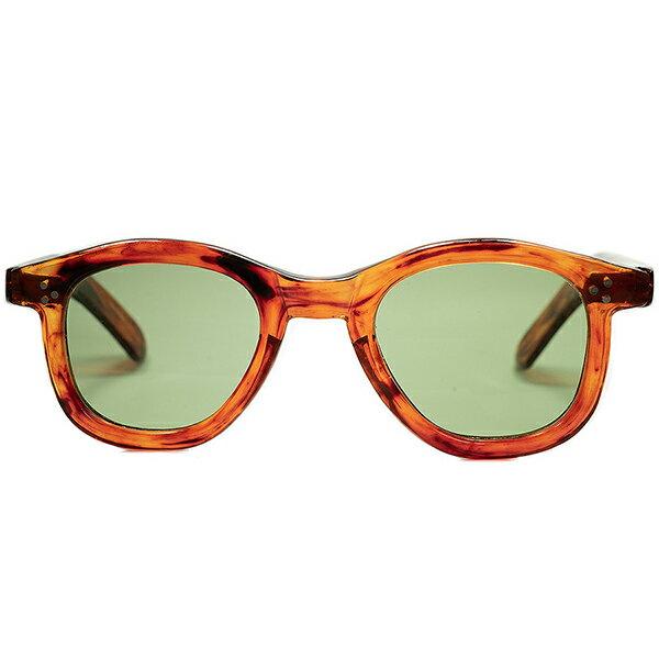 眼鏡・サングラス, 眼鏡 WWII 1940s 160;DEADSTOCK MAX PITTION FRAME FRANCE TEMPLE 6mm3PANTOLENS 160; 160; a6767