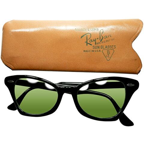 鬼レア初期モデル デッド級TOPランク個体 1950s USA製 B&L RAYBAN ボシュロム レイバンROCKSHADEロックシェードサングラスBL製#2ガラスLENS ビンテージヴィンテージ 眼鏡メガネ a7084