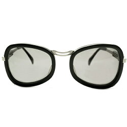 秀逸未完成オーラ&超ハイクリティデッドストック1990s日本製MADEINJAPANジャンポールゴルチエJeanPaulGAULTIERネジ型テンプル黒×銀インナーリムフレームカラーレンズ入ヴィンテージメガネ眼鏡サングラスA4155