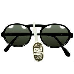 1992スペシャルMODELデッドストック1980s-1990sUSA製MADEINUSAボシュロムレイバンB&LRAY-BANUPPERBRIDGEアンティークSTYLE楕円形OVALラウンド丸眼鏡ヴィンテージメガネ眼鏡サングラスA4262