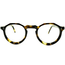 特撰スペックGOODSIZE個体デッドストック1950sフランス製MADEINFRANCE黒鼈甲柄クラウンパントCROWNPANTO実寸size43/24ヴィンテージメガネ眼鏡A4308