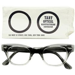 旧ロゴペーパースリーブ付ゴールデンSIZE44/24デッドストック1960sアメリカ製MADEINUSATARTOPTICALタートオプティカルCOUNTDOWNカウントダウンGREYFADEヴィンテージメガネ眼鏡A4314