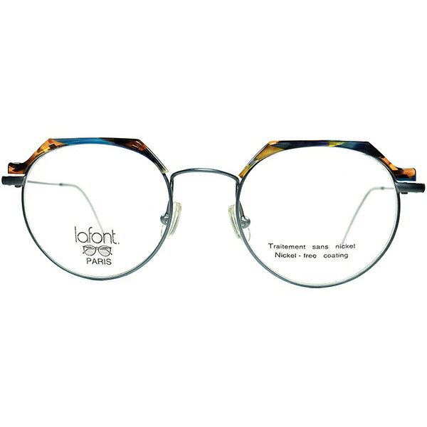 眼鏡・サングラス, 眼鏡  NO.1 1980s-90s FRAME FRANCE lafont 160; 160; a7317