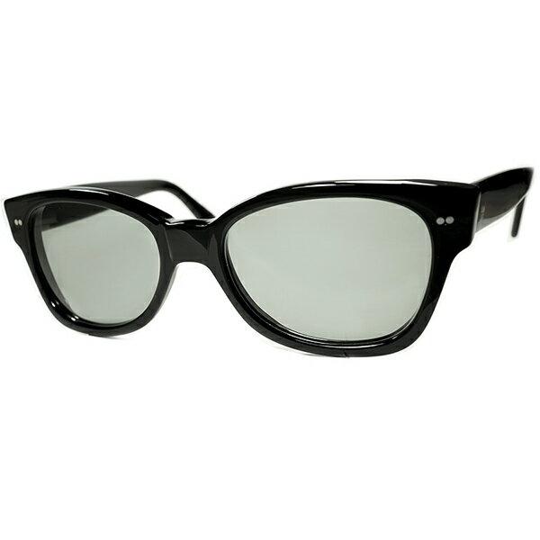 眼鏡・サングラス, 眼鏡  1970s ENGLAND CUTLER AND GROSS WIDE FRONT BLACK 160; 160; a7457