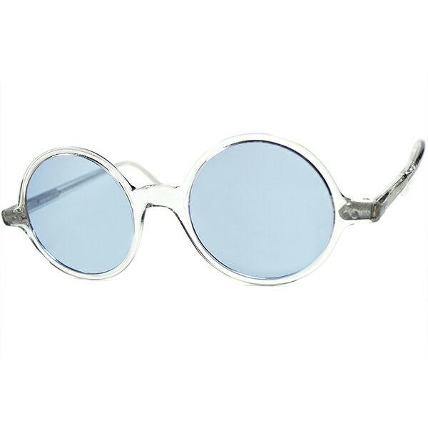 眼鏡・サングラス, 眼鏡  1970s ENGLAND CUTLER AND GROSS CRYSTAL 160; 160; a7595