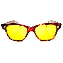 スペシャル希少モデルデッドストック1960sUSA製MADEINUSAアメリカンオプティカルAOAMERICANOPTICALカリクロームレンズHAZEMASTERサングラスヴィンテージメガネ眼鏡A2510