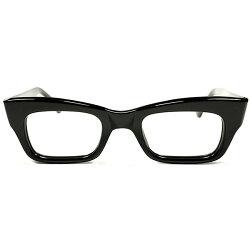 歴代最厚9枚蝶番超ハイクオリティデッドストック1960s英国製MADEINENGLANDマイケルケインSTYLE肉厚BLACKウェリントンフレームヴィンテージメガネ眼鏡イギリスUKA3107