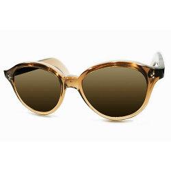 圧巻9mm極厚フロントデッドストック1940sフランス製MADEINFRANCE3DOTヒンジ芯なしOLDテンプル仕様BROWNSMOKEパント型サングラスオリジナルブラウンガラスレンズヴィンテージメガネ眼鏡A3627