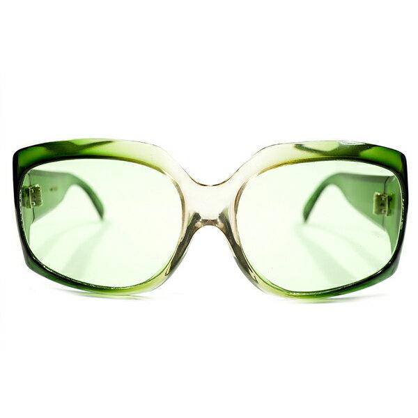 眼鏡・サングラス, 眼鏡 MAP 1960s-1970s MADE IN FRANCE MAX PITTION AGREEN CRYSTAL FADE 160; 160; A3747
