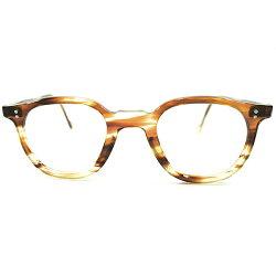 GOODSHAPE&GOODSIZEデッドストック1950sフランス製MADEINFRANCEフレンチアーネルFRENCHARNEL鼈甲柄ヴィンテージメガネ眼鏡実寸42/24A4104