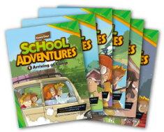 送料無料!CD付き!【SchoolAdventuresGradedComicReadersLevel1Set(6冊セット)】(英語リーダー/英語コミック/多読/児童英語/小学生英語/中学生英語/高校生英語/子ども英語/親子英語)【RCP】