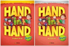 送料無料!【HandinHandStarterStudentBookwithHybridCD(mp3Audio+DigitalResources)+Workbookセット】