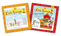 ����̵������Kid'sSongs1+Kids'Songs2ClassroomClassicsCD���åȡ۳ڤ����Ҥɤ�Ѹ�βΡ���RCP��