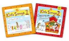送料無料!【Kid'sSongs1+Kids'Songs2ClassroomClassicsCDセット】楽しい子ども英語の歌!