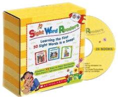 送料無料!【ScholasticSightWordReaders25Readers,WorkbookandAudioCDSet】子ども英語英単語【RCP】【marathon201305_toy】