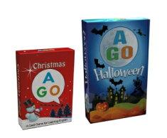 AGOクリスマス+ハロウィーンカードゲームセット