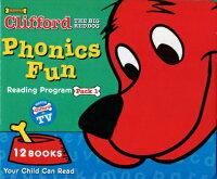 送料無料!CD・日本語ガイド付き!【クリフォードフォニックス1(12冊+CD)】CliffordPhonicsFunPack1子ども英語英単語重要単語Scholasticスカラスティック