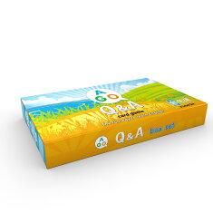 送料無料!プレゼント付き!【小学生向け英語教材AGOQ&Aカードゲーム(第2版)3レベルセット】