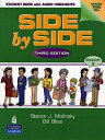 大ベストセラー教材 Side by Side の第3版!送料無料【Side by Side 3 Student Book with Audio...